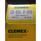 Metales De Biela Ford 335,351w Cb-831-p-030