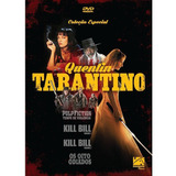 Kill Bill Pulp Fiction Box Dvd Quentin Tarantino 4 Filmes