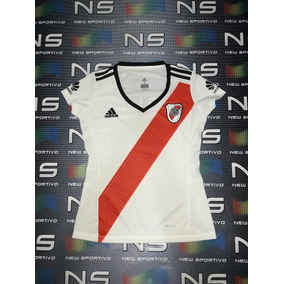 Camiseta Dama River Plate Titular 2018 2019 Envios