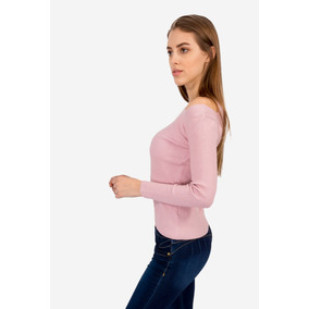 Sweater Cut Outs Rosa By Aspik
