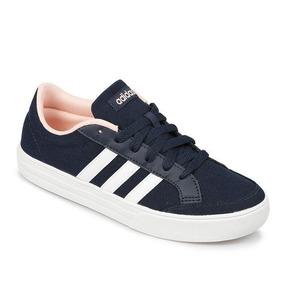 ce8abf60708 Tênis Adidas Classic Três Listras - Adidas Azul escuro no Mercado ...