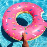 Flotador Donut Pink Y Chocolate