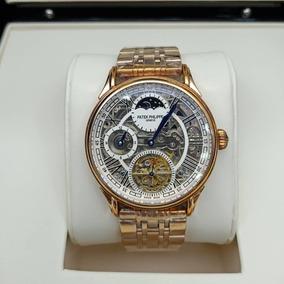 Relógio Masculino Dourado Automático Eta 1.16 - Frete Grátis