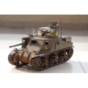 Modelo Escala 1:35 Tanque Segunda Guerra M3 Lee Com Interior