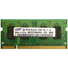 Memoria De Laptop Samsung 1gb 2rx16 Pc2-5300s-555-12-e0 Ddr2
