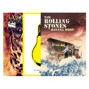 3 Dvds U2 Rolling Stones Blackveil Brides Lacrados Frete Gr