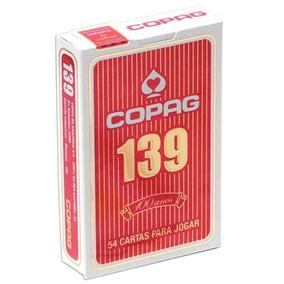 Baralho Copag 139 - Tradicional (lacrado) Vermelho