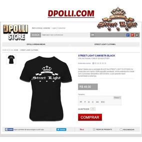 Nike Light Street - Camisetas no Mercado Livre Brasil dc024e753214c