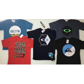 1389e24d40 Kit 5 Camisetas Camisas Masculinas Baratas Marcas Oakley