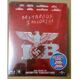 Bluray Bastardos Inglórios Lacrado + Chaveiro Bastão Raro