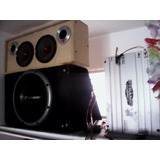Sonido Completo 1 Pioneer 7650mp 1 Bajo .1planta 2 Medios