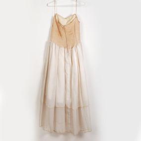 Roupa P/ Estudio Fotog-vestido Dourado Lindo