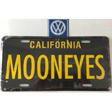 Moon Eyes Placa Decorativa California Negra