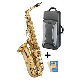Saxo Alto Mib Jupiter Jas500q Estuche + Cañas / Open-toys 41