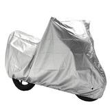 Cubre Moto 190t Silver Nylon Grande