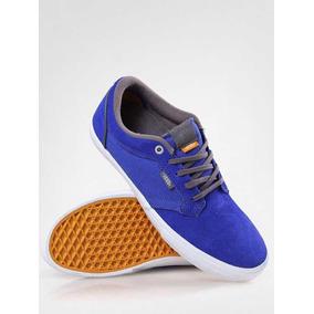 Tenis Vans Type Ii Royal & Pewter -azul Turquesa @magicasurf