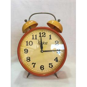 Antigo Relogio Despertador Eska - Relógios no Mercado Livre Brasil 7a23e54491a