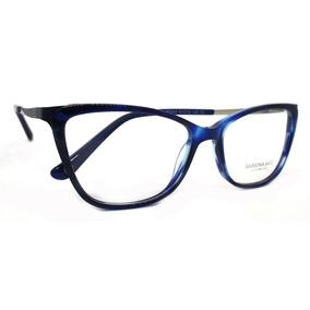 Óculos De Grau Sabrina Sato Ss344 Acetato C2 Azul Original e4b5e8869b