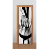 Adesivo Porta Parede Box Luta Mma Muaythai Kung Fu Karate
