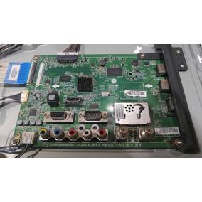 Placa Principal Lg 32ly340c Usada Tv Quebrou A Tela