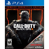 Call Of Duty Black Ops 3 Zombies Chronicles Ps4 Juego Físico