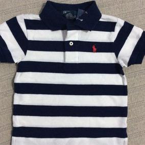 Polo Ralph Lauren Bebê Camisa Polo Listrada- 4 Modelos! 6335cad8430