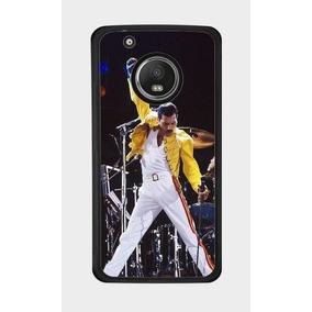 Protector Motorola Moto E4 G5 G6 Plus Freddie Mercury Queen