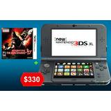 New Nintendo 3ds Xl Consola + Juego De Oferta/sellada