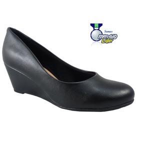 9b6e5f3849 Sapato Beira Rio Confort Salto Anabela - Sapatos no Mercado Livre Brasil