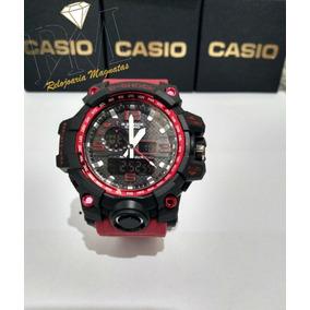 0f293c1a0a6 Vermelho - Relógio Casio Masculino no Mercado Livre Brasil