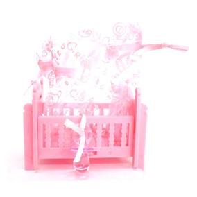 Kit Mini Berço Rosa - 10 Unidades