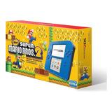 Consola Nintendo 2ds Azul Blue Electric New Mario Bros 2 Msi