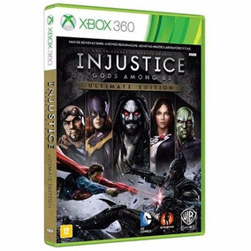 Injustice Gods Among Us Ultimate Xbox 360 Mid Fisica Origina