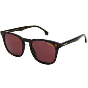 147af87a89a88 Óculos Carrera Marrom Quadrado De Sol - Óculos no Mercado Livre Brasil