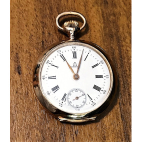 7533a3aa98f Relogio De Bolso Omega De Ouro - Relógios no Mercado Livre Brasil