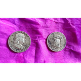 Moneda Half Dollar Plata 1958