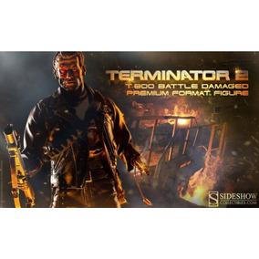 Hot Toys T800 Terminator Premium Sideshow Edição Limitada