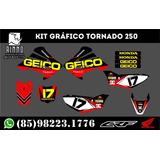 Kit Gráfico Tornado 250 0.5mm Grosso Personalizado