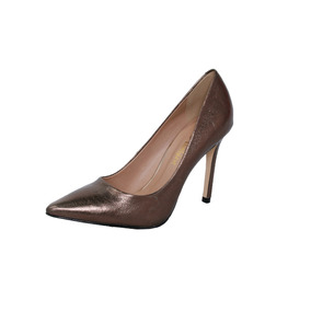c939060726 Scarpins Dourado Metalizado - Scarpins para Feminino no Mercado ...
