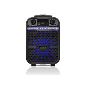 Caixa Multiuso Portátil Bluetooth/cartão/usb/fm 80w Go Power