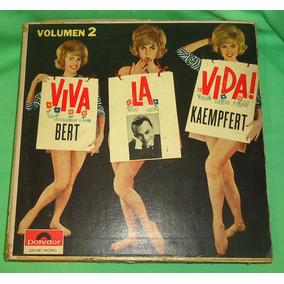 Lp Vinilo Viva La Vida Vol 2 Bert Kaempfert
