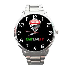 da183a885ec Relógio De Pulso Ducati Personalizado Moto Logo Corse 899