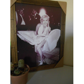 Poster Emoldurado - Marilyn Monroe - Frete Grátis