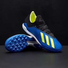Tenis adidas Multitaco X Tango 18.3 Tf Db1955 Azul 73ebcdcf317b6