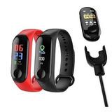 Relogio Inteligente Smartband M3 Monitor Cardíaco Relógio