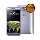 Smartphone Lg X Cam Dual Chip Cam 13mp + 5mp Tela Hd 5,2 4g