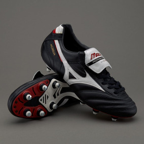 Chuteira Mizuno Morelia Classic Soft Ground 8 Travas - Chuteiras no ... 894e186c845e1