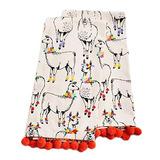Paper Source Whimsical Llama Tea Towels Set Two Kitchen Hand