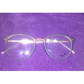 Armação Óculos De Grau Redondo Geek Ray Ban Metal Acetato. R  145 b17f665157