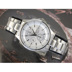 Relógio Seiko Aco Inox Fundo Cinza 7t92cl 1 B1sx